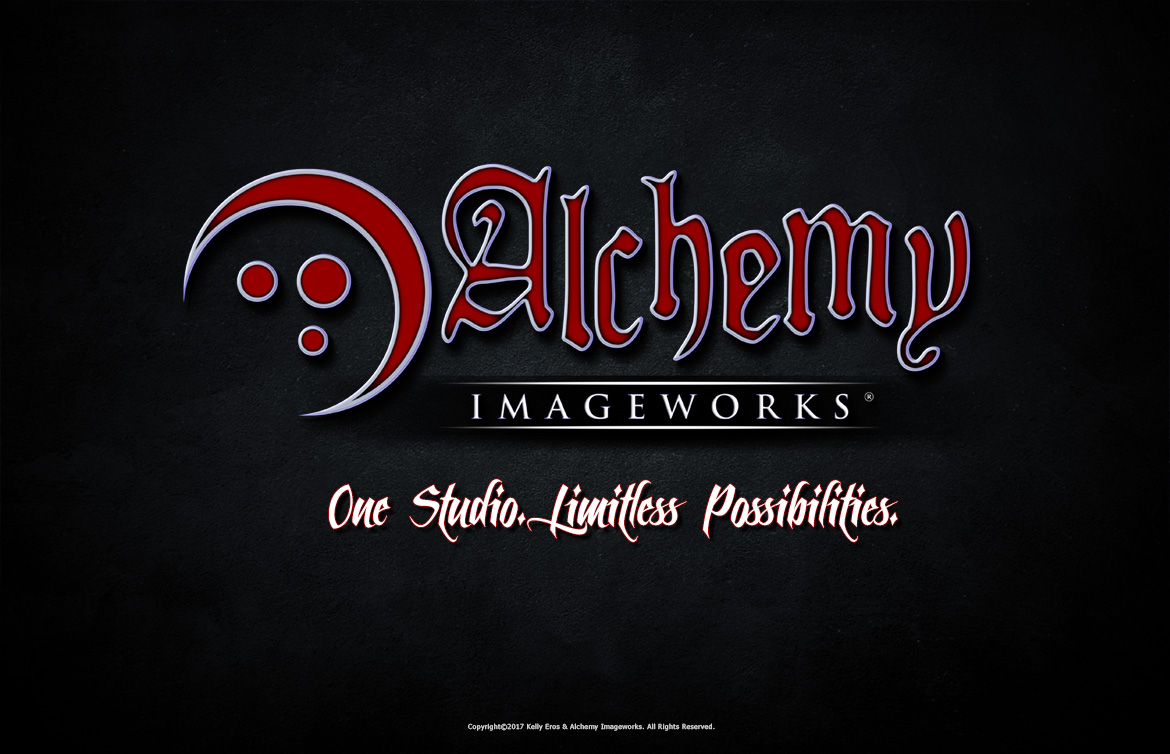 Alchemy Imageworks Logo with Slogan