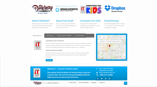 Technical Support Services Website