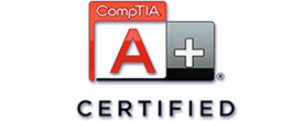 Com Tia A+ Certified Logo