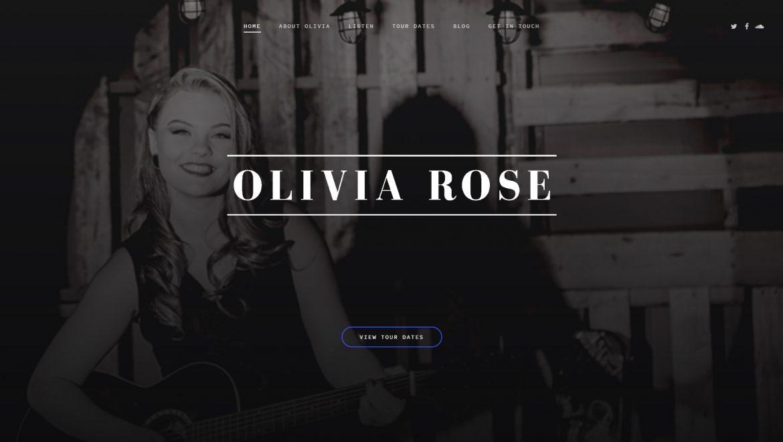 Olivia Rose Band Website