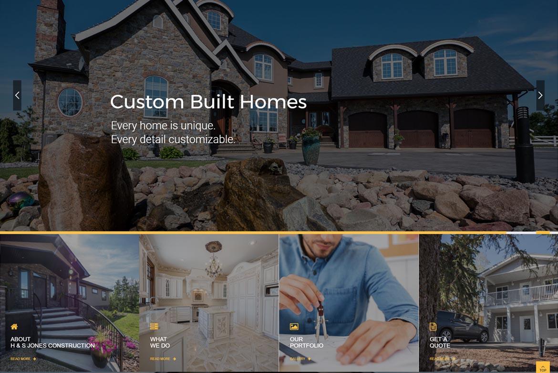 Construction Website Design Edmonton