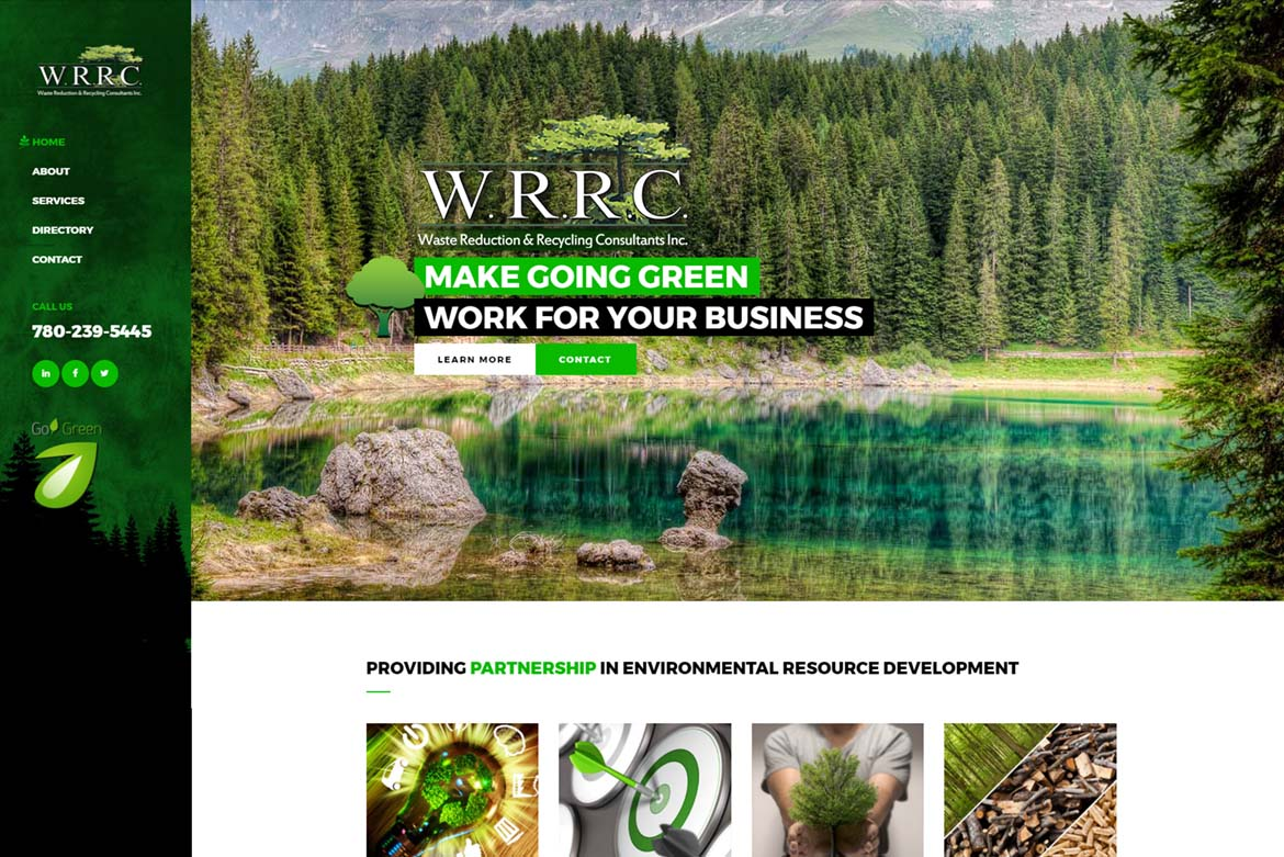 Recycling Consultant Website