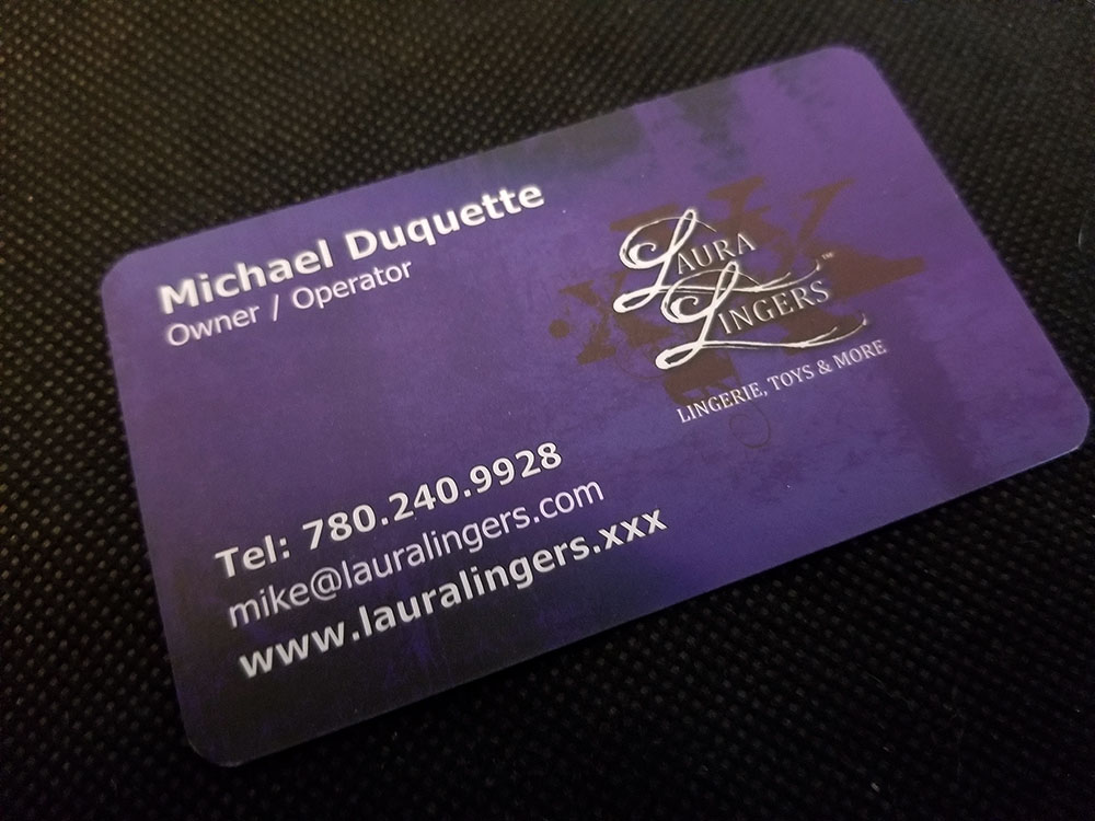 Edmonton Business Card Design
