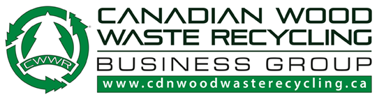 Canadian Wood Waste Recycling Logo