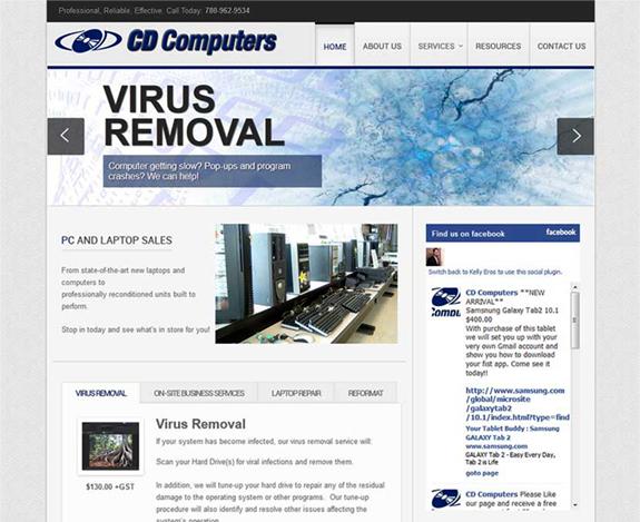 CD Computers Predecessor