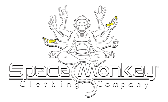 Space Monkey Clothing Company Logo