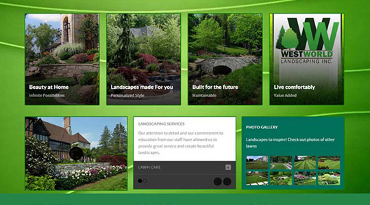 Westworld Landscaping Business Website Design