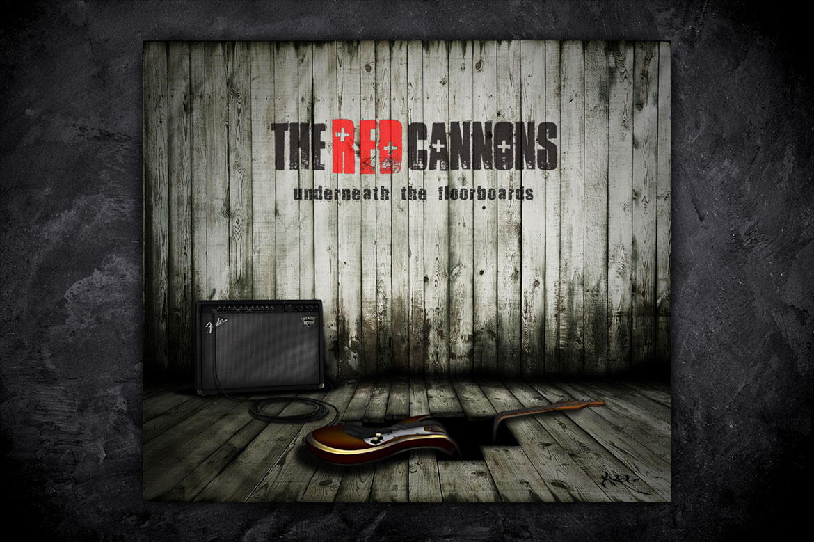 Red Cannons Album Cover Design