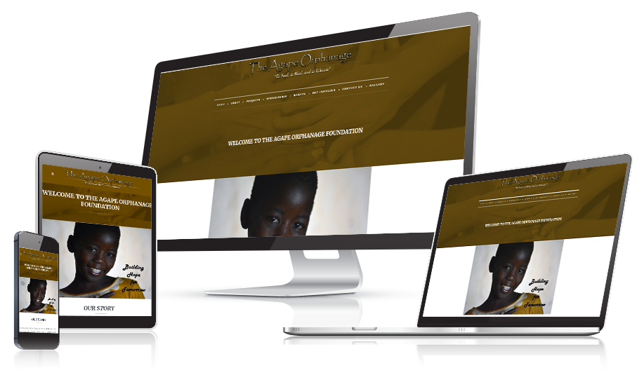 Agape Orphanage Responsive Website Design