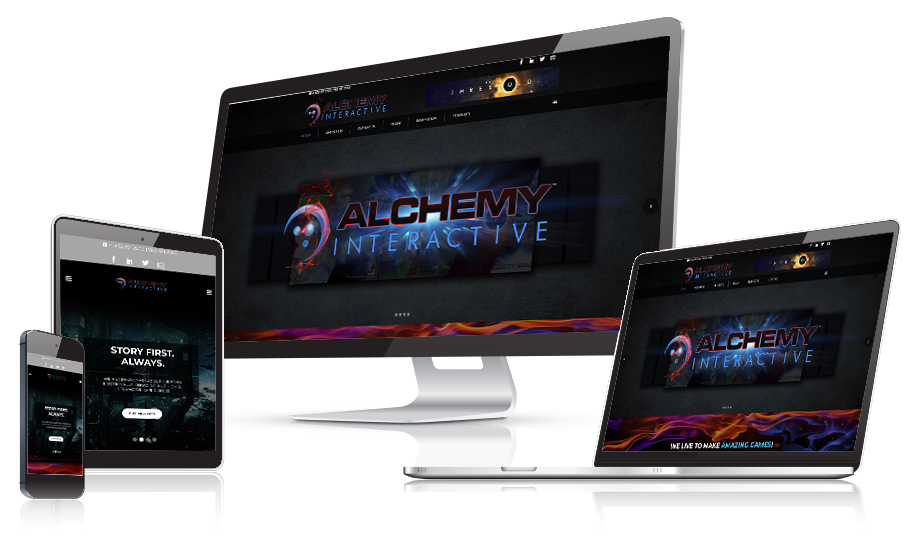 Alchemy Interactive Game Company Website