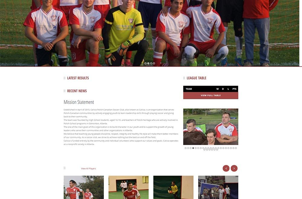 Calisia Soccer Team