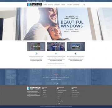 Edmonton Egress Windows Web Design