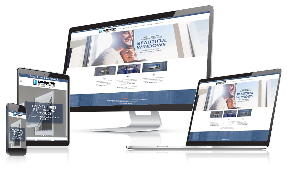 Edmonton Egress Windows Website Design