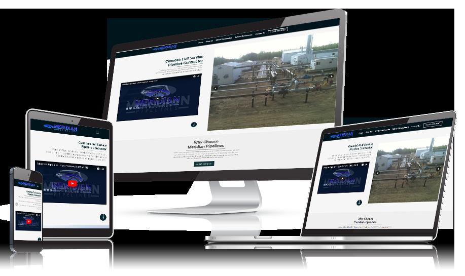 Meridian Pipelines Website Development