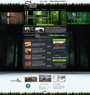 M&M Logging Web Development