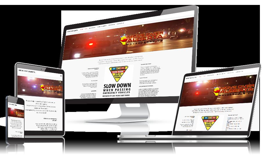 Move Over Alberta Web Design