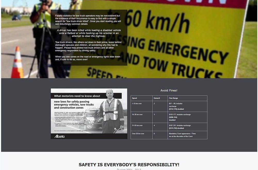Move Over Alberta Responsive Website Design