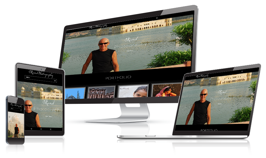 Rand Photography Responsive Web Design
