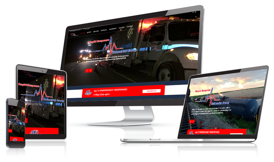 Rapid Response Industrial Group Web Design
