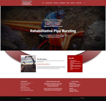 RPB Industries Web Design