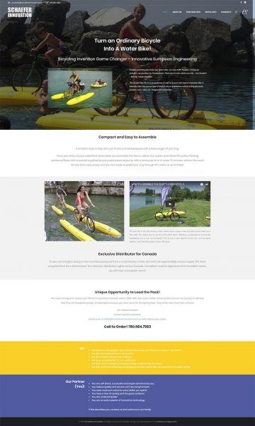 Schaefer Innovation Web Design