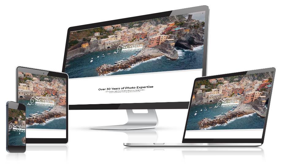 Seygan Photoworks Responsive Web Design
