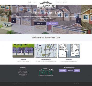 Stoneshire Gate Web Design