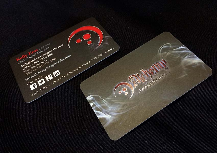Alchemy Imageworks Business Card Design