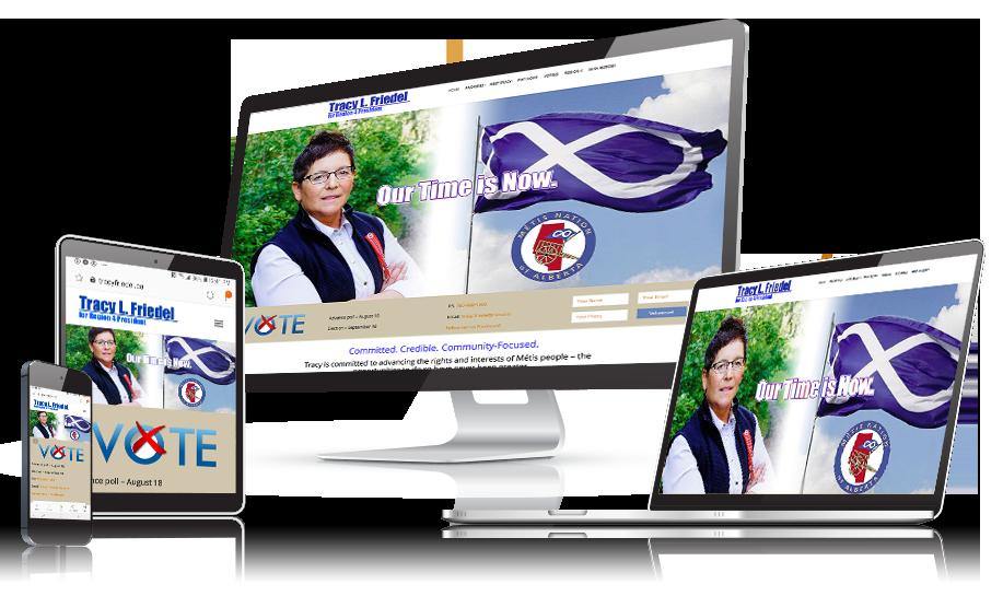 Tracy Friedel Website Design