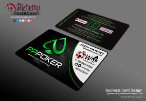 PPPoker Business Card Design