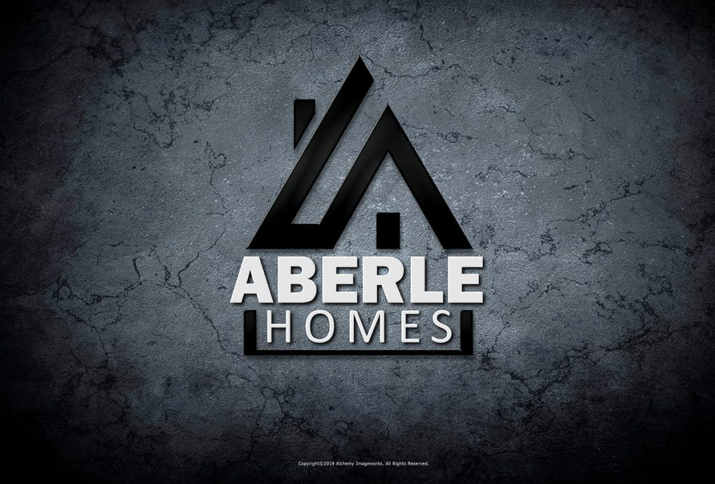 Aberle Homes Logo Design by Alchemy Imageworks